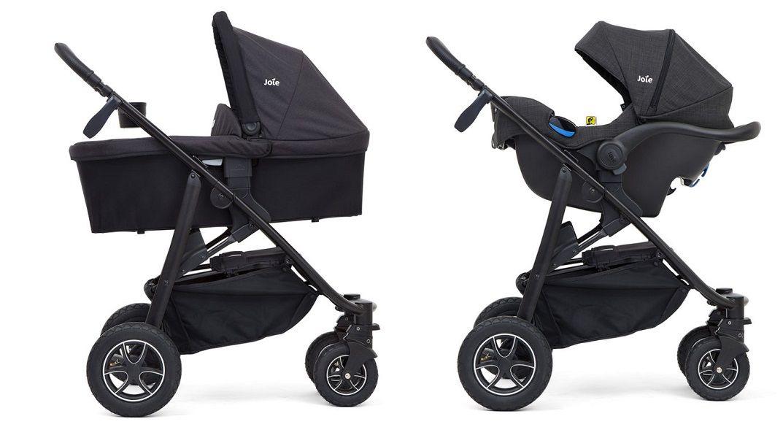 Joie Mytrax совместима с автокреслам креслами Gemm и i-Gemm группы 0+ и люлькой для новорожденного