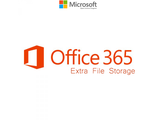Microsoft Office 365 Xtra File Storage Open Shared Server  SNGL Subscription VL OLP NL Annual AddOn