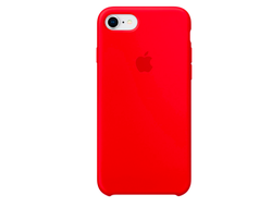 Клип-кейс Apple Silicone Case для iPhone 7/8 (красный)