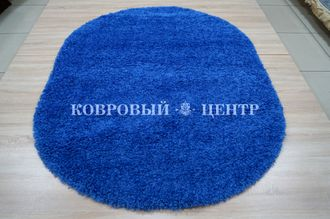 КОВЕР SHAGGY XXX 10013 D.BLUE / 1.2*1.7 М ОВАЛ
