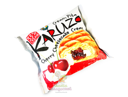 Крем-пита Karuzo Cherry, с вишневой начинкой, 62 гр.