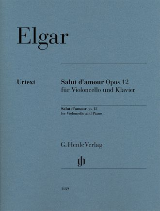 Edward Elgar Salut d'amour op. 12 for Violoncello and Piano