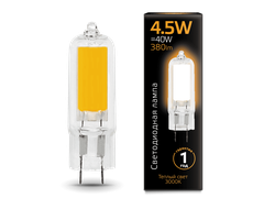 Gauss LED T16 4.5w 830/840 AC220-240v G9