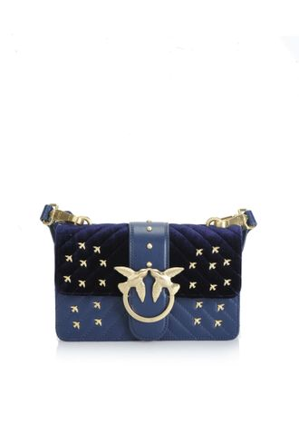 Pinko love metal birds dark blue