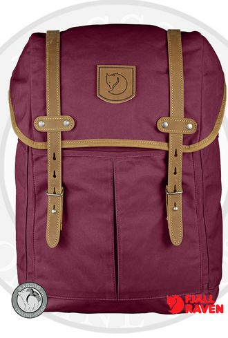 Рюкзак Fjallraven Rucksack No.21 Medium Plum. Магазин Fjallraven в СПб
