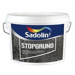 Грунтовочная краска Sadolin Stopgrund Садолин Стопгрунт