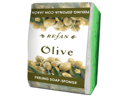 Мыло-губка Olive Refan 75г