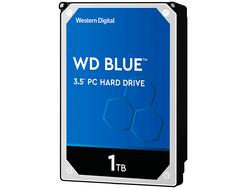 ЖЕСТКИЙ ДИСК HDD 1TB WESTERN DIGITAL BLUE SATA 6GB/S 7200RPM