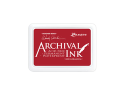 Wendy Vecchi Archival Ink™ Pad Red Geranium