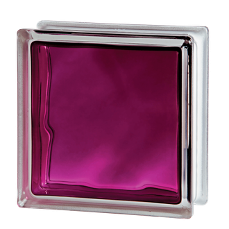 Cтеклоблок Vetroarredo BRILLY RUBY 1919/8 WAVE (Италия)