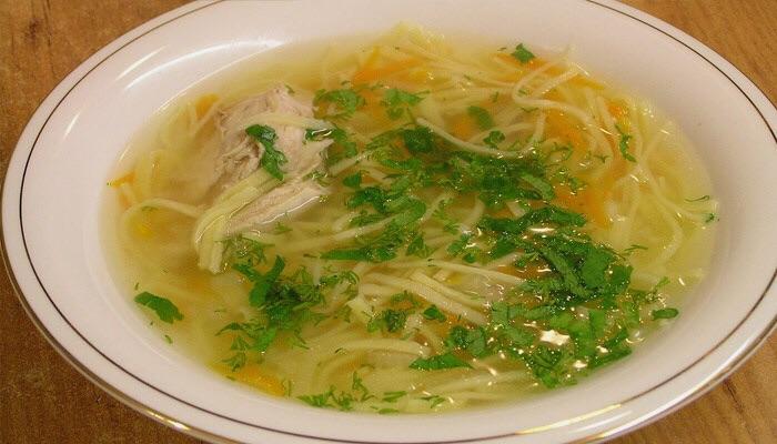 Суп лапша куриная рецепт с фото прозрачный