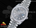 DateJust 41 126334 SS REF 1:1 Best Edition Silver Dial