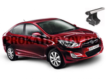 Дуги THULE для HYUNDAI Solaris, Accent, i25,Verna (SEDAN)