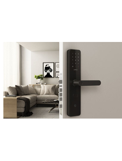 Умный дверной замок Xiaomi Mijia smart door lock carbon black