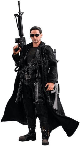 Нео (Матрица, Киану Ривз) - Коллекционная фигурка 1/12 scale The hacker killer Neo The Matrix Keanu Reeves (PC014) - PCTOYS