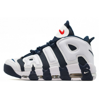 Nike Air More Uptempo 96 Синие с белым