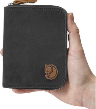 Кошелек Fjallraven Zip Wallet Dark Grey (030)