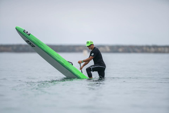 ЖЕСТКАЯ SUP ДОСКА 404 M4 CARBON 2020