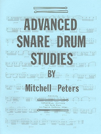 Peters, Mitchell Advanced Snare Drum Studies