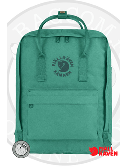 Рюкзак Fjallraven Re-Kanken Emerald в интернет магазине Bagcom
