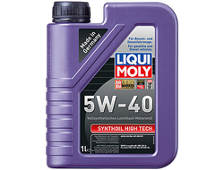 Масло моторное LIQUI MOLY Synthoil High Tech 5W-40 1л 1924