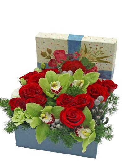 Букет 1001 магазины цветов тц рио ленинский для голубой