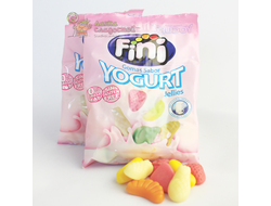 "FINI Yogurt, мармелад ""фрукты в йогурте"", 100 гр."