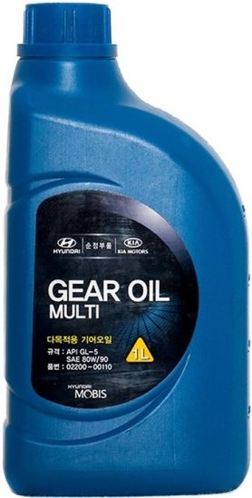 Hyundai GEAR OIL Multi SAE 80W/90 (1_литр/OEM:02200-00110)