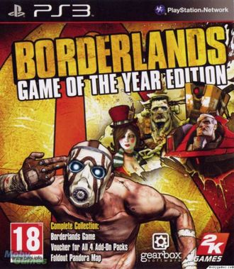 игра для PS3 Borderlands Game of the Year Edition
