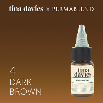 tina devis. #4 dark brown