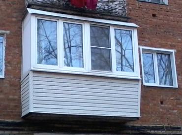 Примеры работ теплого остекления балконов и лоджий в москве.