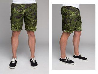 Шорты HIDE city cargo series, M-84 camo