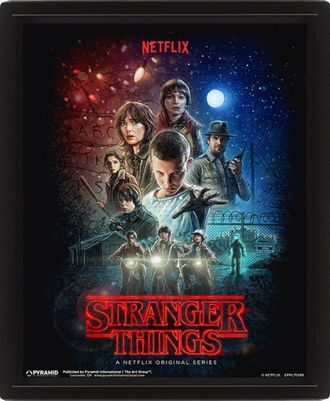 Купить 3D картину Stranger Things: One Sheet Странные дела