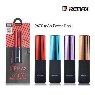Power Bank REMAX lipstick RPL-12 2400mAh