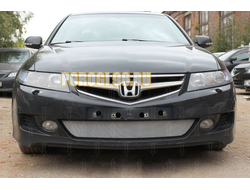 Защита радиатора Honda Accord VII (рестайлинг) 2006-2008 chrome