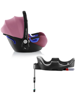 Britax roemer baby-safe i-size и база flex Wine Rose