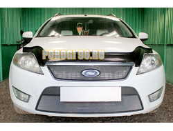 Защита радиатора Ford Mondeo IV 2007-2010 chrome низ