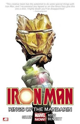 Iron Man Rings of the Mandarin Volume 5 Comics ИНОСТРАННЫЕ КОМИКСЫ, Iron Man Rings of the Mandarin V