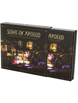 Sons Of Apollo - Live with the Plovdiv Psychotic Symphony 3-CD & DVD