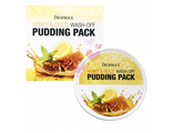Маска-пудинг  для лица с медом и золотом Deoproce Honey & Gold Wash Off Pudding Pack