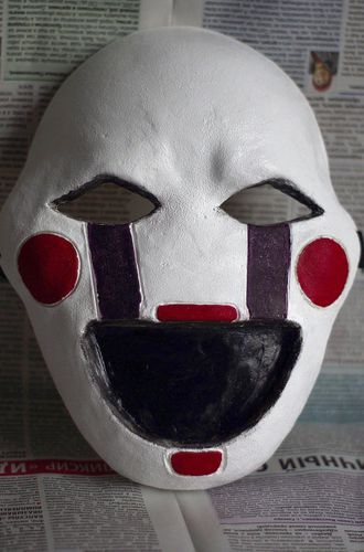 Маска Марионетки FNAF Marionette mask puppet Five Nights at Freddy
