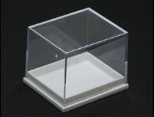 Бокс пластиковый для образцов, белый 41*35*32 мм №20212