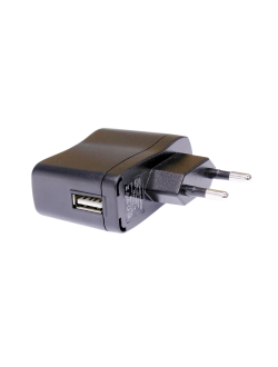 Блок питания 5В, 0.5А, USB2.0(female), LDT-12E