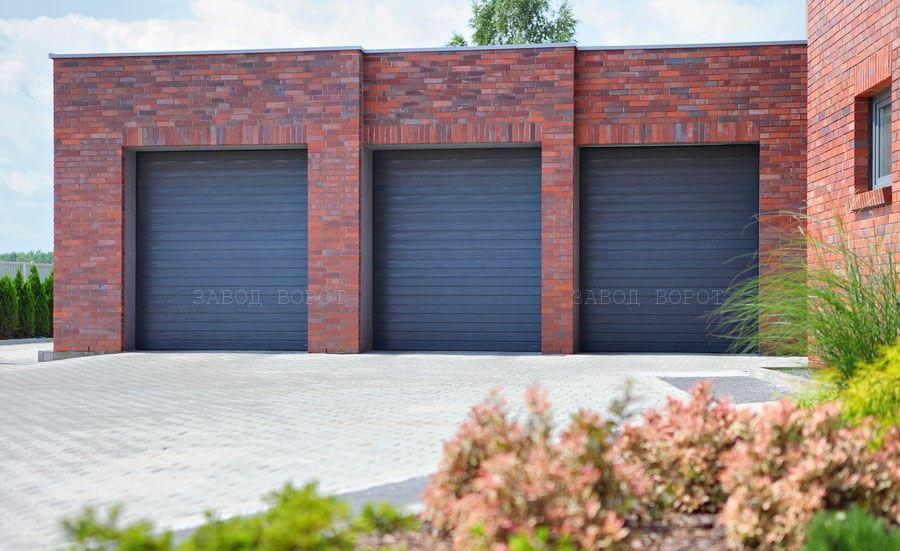 роллетные гаражные ворота - изготовление въездных ворот - установка ворот