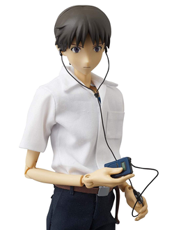 Кукла 1/6 Real Action Heroes Shinji Ikari Uniform Version (Синдзи Икари)