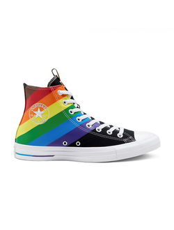 Кеды Converse Chuck Taylor All Star Pride High Top радуга