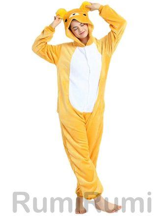 Пижама кигуруми медведь Rilakkuma купить по цене 2090 руб. f5ef3bb21e715