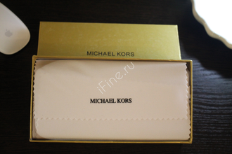 КОШЕЛЕК MICHAEL KORS Metallic Saffiano GOLD LONG2