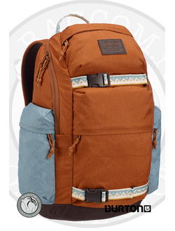 Burton Kilo Pack 27L Caramel Café Heather