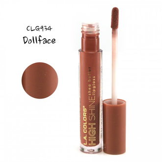 Блеск для губ L.A. Colors High Shine Shea Butter Lipgloss 934 Dollface